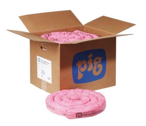 Sock thấm hóa chất NewPig PIG301 - Quây chặn và thấm hút hóa chất tràn vãi