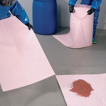 Cuộn thấm hóa chất NewPig- Thấm hút hóa chất tràn đổ