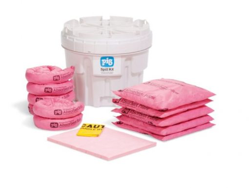 Bộ Kit xử lý hóa chất tràn NewPig Kit311 - Ứng phó nhanh sự cố tràn hóa chất trong phòng thí nghiệm